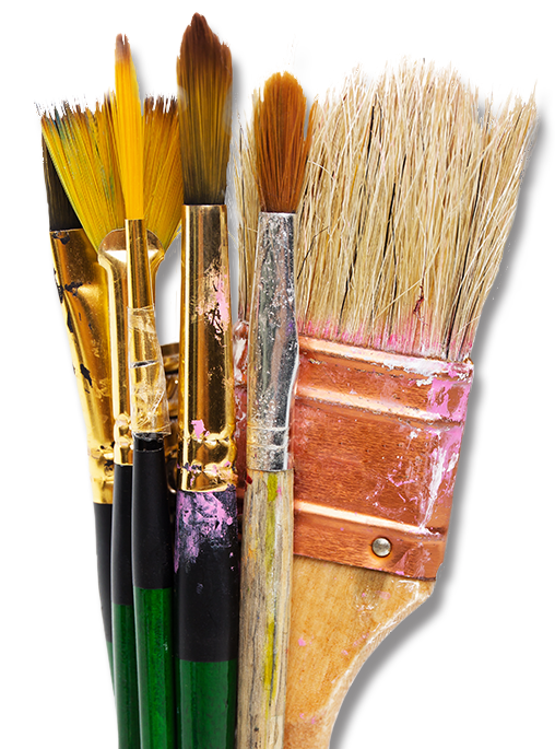 Kittle's Fine Art & Supply paintbrushes (image)
